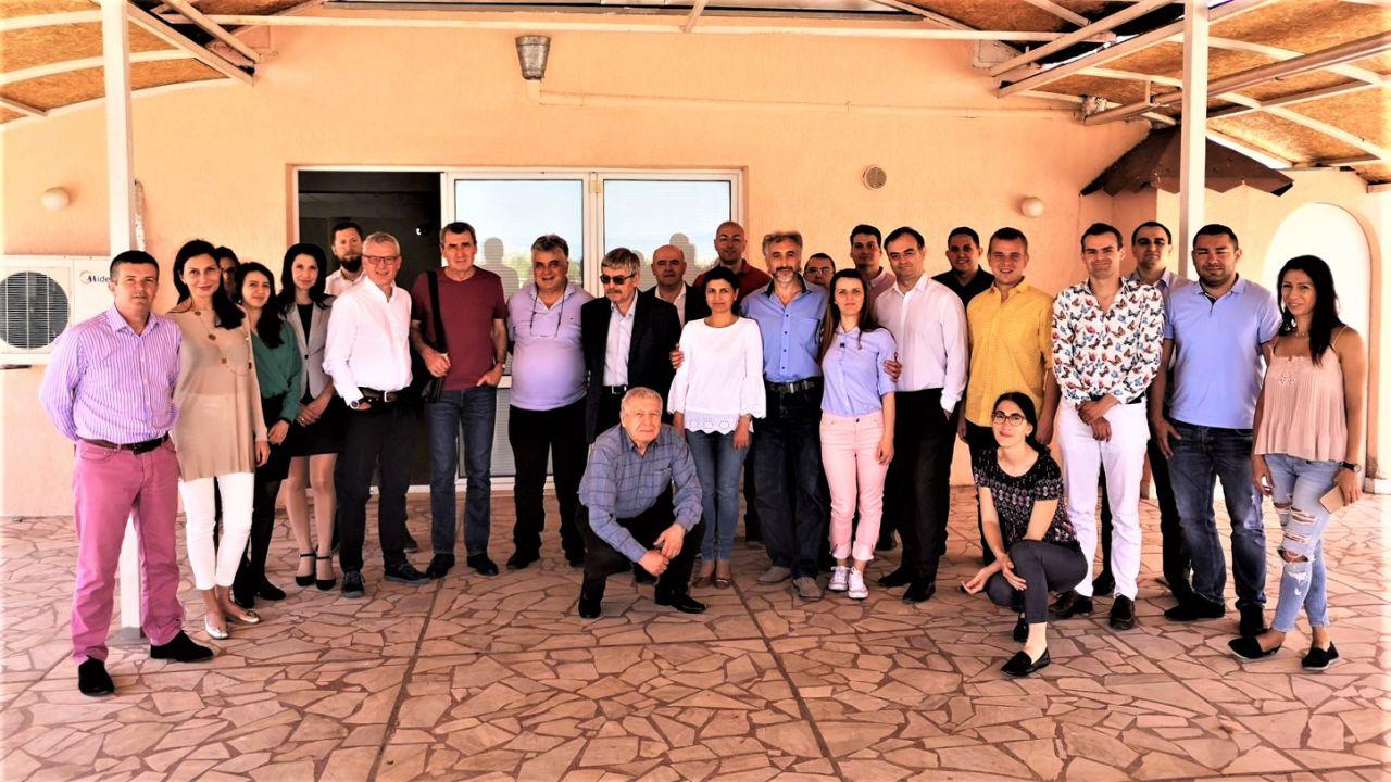 """Екип от катедра """"Финанси и кредит"""" взе участие в международна научна конференция на УНСС в Равда (27.5.2019 г.)"""