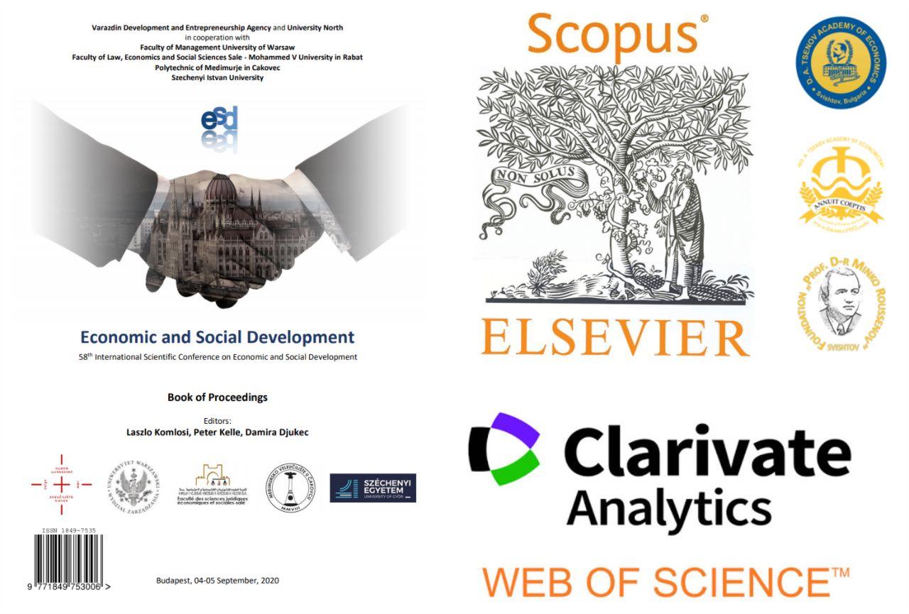 """Петнадесет преподаватели и докторанти от финансовата катедра в СА """"Д. А. Ценов"""" са вече с публикации в SCOPUS/Web of Science (08.09.2020)"""