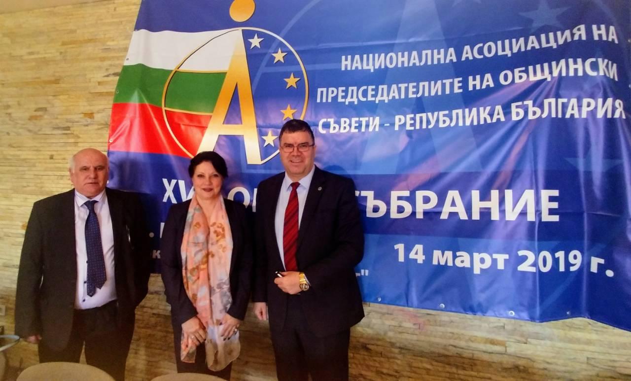 Меморандум за сътрудничество сключиха сдружението на общинските председатели и свищовската финансова катедра (14.3.2019 г.)